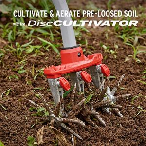 Corona LG DiscCULTIVATOR Garden Disc Cultivator, Red