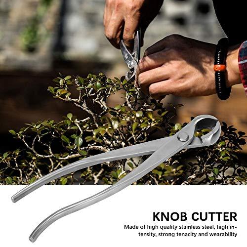 TOPINCN Stainless Steel Bonsai Tool, Garden Knob Cutter Bonsai Cutter