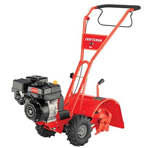 Craftsman 14-Inch Gas Powered Rear Counter Rotating Tine Tiller