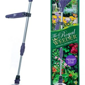 The Royal Weeder Lightweight Electric Tiller and Cultivator