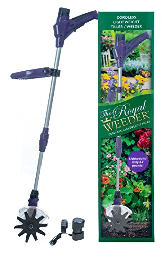 The Royal Weeder Lightweight Electric Tiller and Cultivator