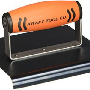 "Kraft 6""x6""x 1/2""Radius Blue Steel Edger ProForm Handle"