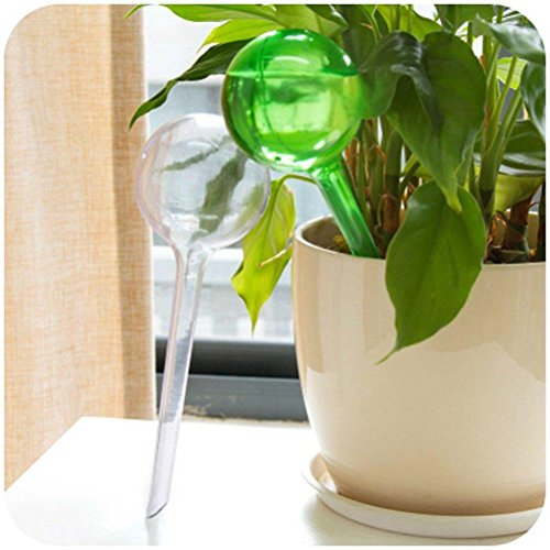 CoscosX 5 Pcs Automatic Watering Device Globes Vacation Houseplant Plant
