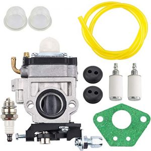 Kizut Carburetor for Earthquake Auger Fuel Line Grommet Tune-Up Kit