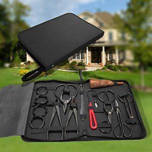 neotheroad Bonsai Tool Kit Set 10 PCs Carbon Steel Splitter