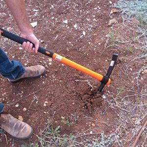 TABOR TOOLS Pick Mattock with Fiberglass Handle, Garden Pick