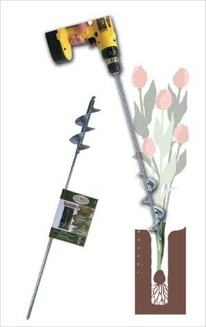 Heavy Duty Bulb and Bedding Plant Auger