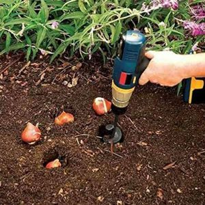 SuperThinker Auger Drill Bit, Garden Plant Flower Bulb Auger Rapid Planter