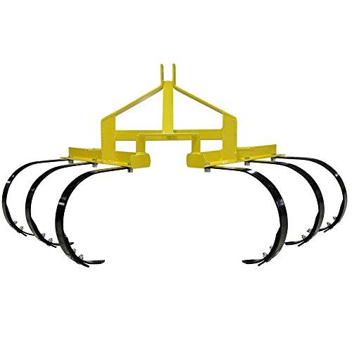 Titan 3 Point Cultivator w/ 6 Spring Steel Shanks