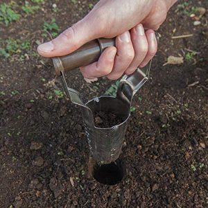 Edward Tools Bulb Planter - Bend Free Tool for Planting Bulbs