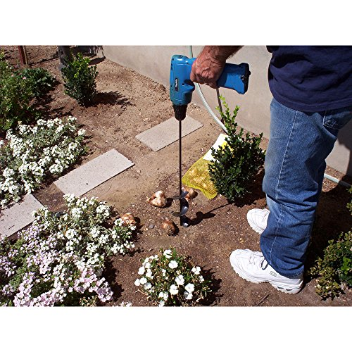 Yard Butler Roto Planter 24 Inch Garden Bulb Planting Auger Cordless Drill