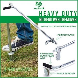 Worth Garden Stand-Up Weeder and Root Removal Tool