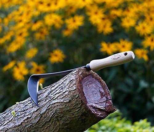 DeWit Right Hand Japanese Hand Hoe, Handheld Gardening Tool