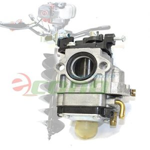 Carburetor Carb W/ Primer For 71cc 52cc 55cc Earth Auger Post