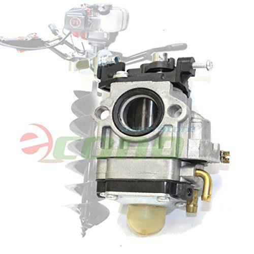 Carburetor Carb W/ Primer For 71cc 52cc 55cc Earth Auger Post