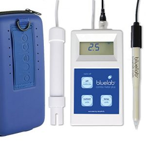 Bluelab Combo Meter Plus - Handheld Digital Hydroponic Nutrient and pH Meter