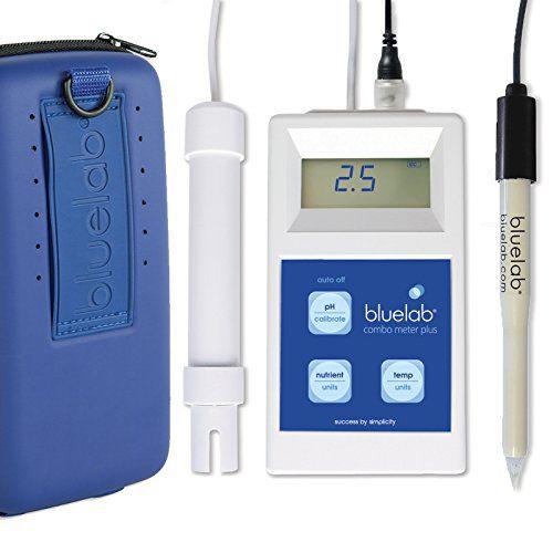 Bluelab Combo Meter Plus - Handheld Digital Hydroponic Nutrient and pH Meter