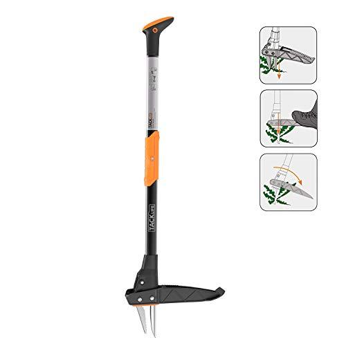 TACKLIFE Weeder, 39-Inch Tool, Orange + Black
