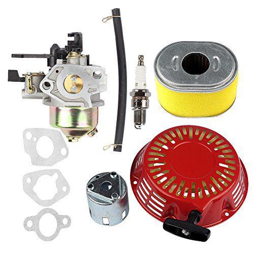 Hilom Carburetor Carb with Recoil Starter Cup Air Filter for Honda