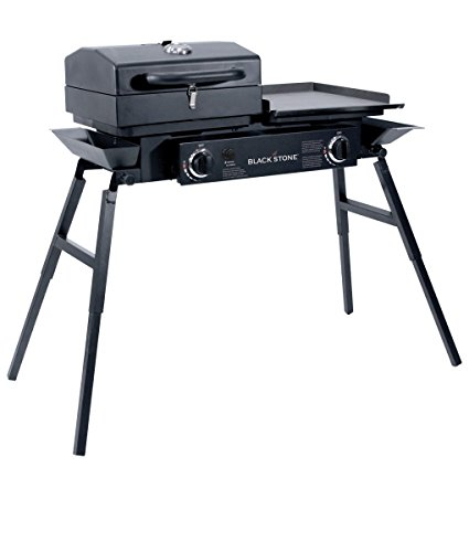 Blackstone Grills Tailgater - Portable Gas Grill and Griddle Combo