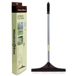 Winslow&Ross Artificial Turf Rake Carpet Groomer Brush Adjustable