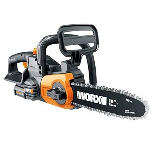 Worx 20V Cordless Chainsaw with Auto-Tension