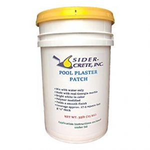 Sider Pool Plaster Patch White- 55 lb - Bonus 5 lb Added