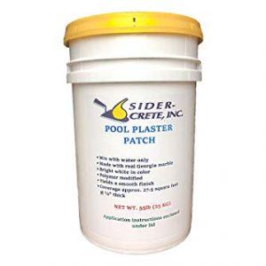 Sider Pool Plaster Patch White- 55 lb - Bonus 5 lb Added