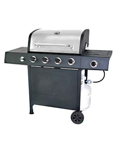 RevoAce 4-Burner LP Gas Grill with Side Burner