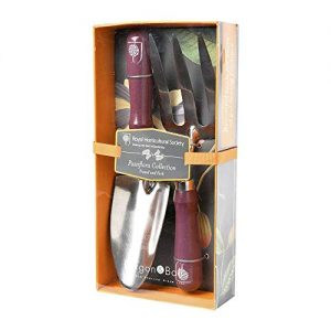 RHS Gifts from Burgon & Ball Passiflora Design Outdoor Trowel