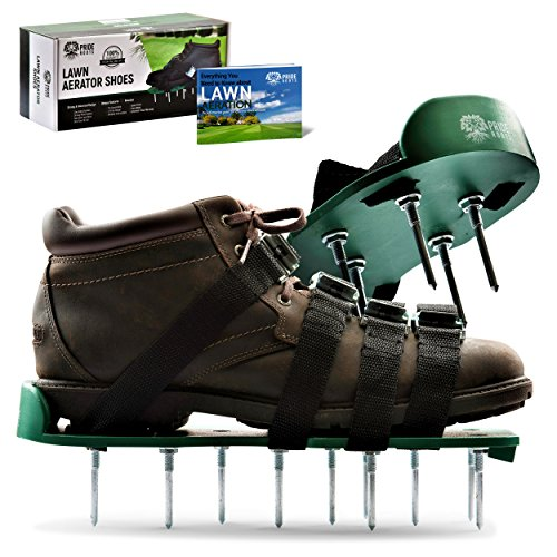 Pride Roots Pre-Assembled Lawn Aerator Shoes - Effective Tool