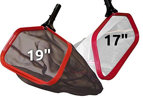 ProTuff Silt & Leaf Rake Bundle - 100% Forever Guarantee Covers Any Issue