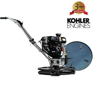 "TOMAHAWK 24"" Power Trowel Edger Walk Behind Gas Power 6 HP Kohler Engine"