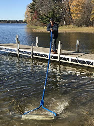 Beachroller -Weeds Muck Silt Gone! Lake Weed Removal Tool