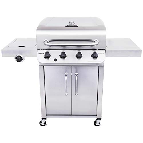 Char-Broil Performance Stainless Steel 4-Burner Cabinet