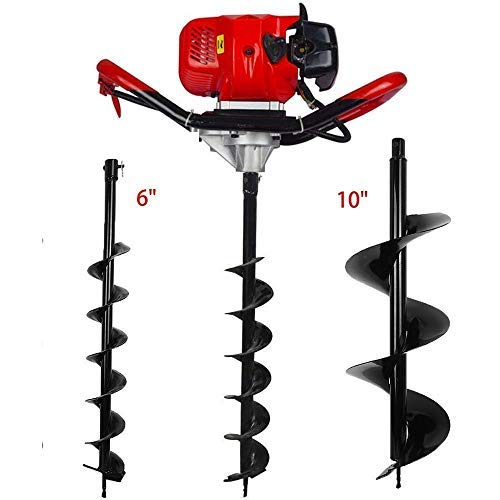 FISTERS 52CC 2 Stroke Gas Powered Post Hole Digger With Auger