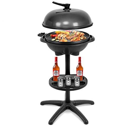 Giantex 1350W Electric BBQ Grill Non-Stick w/ 4 Temperature Setting