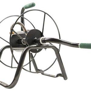 Yard Butler Handy Reel Easy Winding Heavy Duty Metal Garden