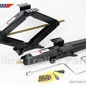 "LIBRA Set of 2 True 7500 lb Heavy Duty 24"" RV Trailer Stabilizer"