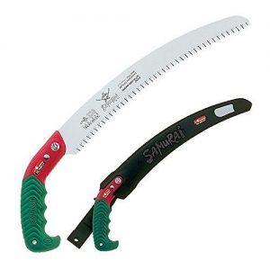 "Samurai Ichiban 13"" Curved Pruning Saw with Scabbard"