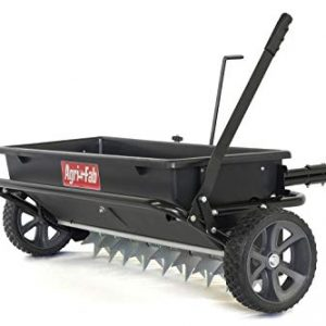 Agri-Fab 100 lb. Tow Spiker/Seeder/Spreader, Black