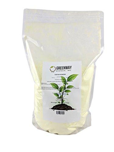 Yellow Sulfur Powder Greenway Biotech Brand
