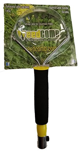 Weedcomb Durable Comfort Grip Combs out Weeds