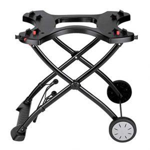 "Weber Q Portable Cart, 28.2"" x 21"" x 25"", Black"
