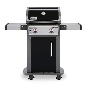Weber Spirit E-210 LP Gas Grill, Black