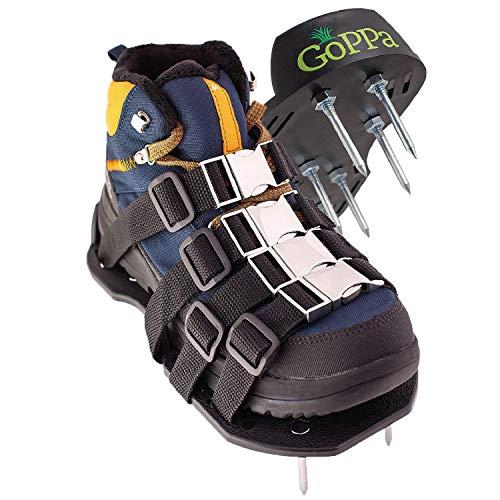 GoPPa Lawn Aerator Shoes - Heavy Duty Lawn Aerator Sandal