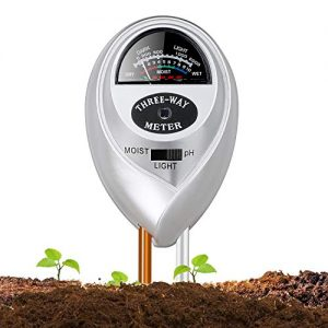 Jellas Soil Moisture Meter - 3 in 1 Soil Tester Plant Moisture Sensor Meter