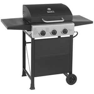 MASTER COOK Classic Liquid Propane Gas Grill, 3 Bunner