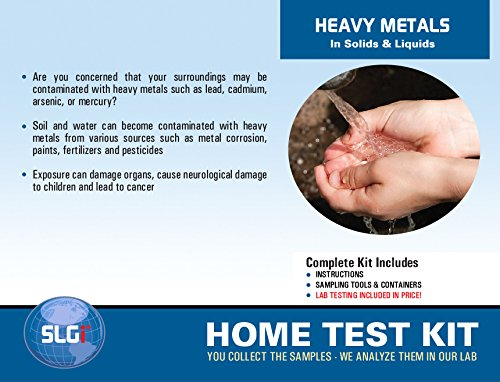 Heavy Metals Test Kit in Ground/Waste Water or Soil 1PK