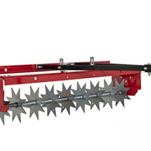 CRAFTSMAN 36 Tow Spike Aerator, Red
